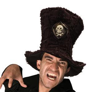 Piratenhut mit Totenkopf Hut Pirat - Vorschau