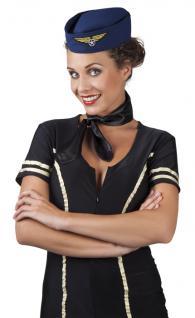 Hut Stewardess Stewardesshut Schiffchen Stewardess Kostüm Stewardess Stewardesskostüm Pilot Kostüm