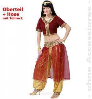 Kostüm Bauchtänzerin Haremsdame Dame Harem Orient orientalisches Kostüm