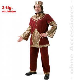 Kostüm Sultan Scheich Maharaja Harem - Vorschau 1