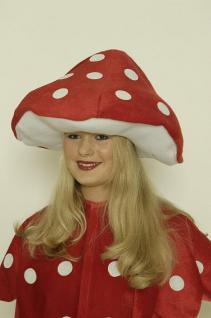 Hut Fliegenpilz Kostüm Fliegenpilzhut Erwachsene Hut Pilz Pilzhut Kostüm Pilz Pilzkostüm - Vorschau