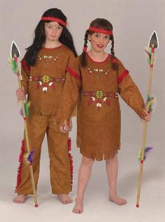 Kostüm Indianerin Indianermädchen Karneval - Vorschau 1
