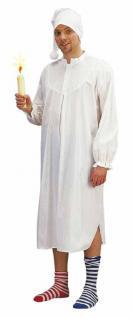 Kostüm Nachthemd mit Mütze Hemd Fasnet Hemdgloncker