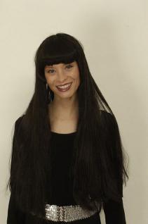 Perücke Cher schwarz - Vorschau