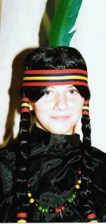 Perücke Indianerin für Kinder Indianerperücke
