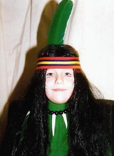 Perücke Indianer für Kinder Indianerperücke
