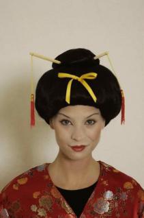 Perücke Geisha Geishaperücke Asiatin - Vorschau