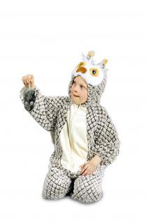 Kostüm Eule Eulenkostüm Kinder und Erwachsene Overall Eule Uhu Eulenoverall