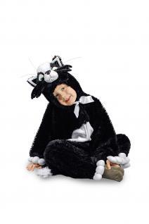 Kostüm Katze Katzenkostüm Kostüm Kinder und Erwachsene Katzenoverall Overall Katze - Vorschau 3
