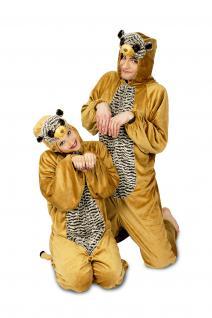 Erdmännchenkostüm Kostüm Erdmännchen Kinder und Erwachsene Erdmännchen Overall Erdmännchen Erdmännchenoverall - Vorschau 1