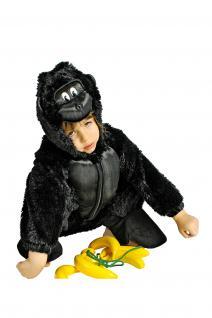 Kostüm Gorilla Gorillakostüm Kinder und Erwachsene Gorilla Overall Gorillaoverall - Vorschau 2