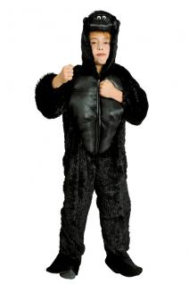Kostüm Gorilla Gorillakostüm Kinder und Erwachsene Gorilla Overall Gorillaoverall - Vorschau 3