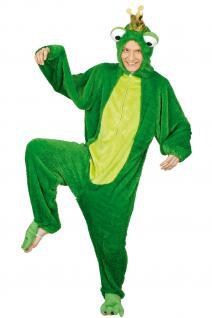 Kostüm Frosch Froschkönig Kostüm Froschkostüm Kinder und Erwachsene Overall Frosch - Vorschau 1
