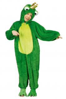 Kostüm Frosch Froschkönig Kostüm Froschkostüm Kinder und Erwachsene Overall Frosch - Vorschau 3