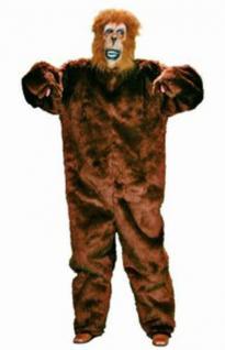 Plüschoverall Overall Plüsch Kostüm Affe Affenkostüm Overall Affe