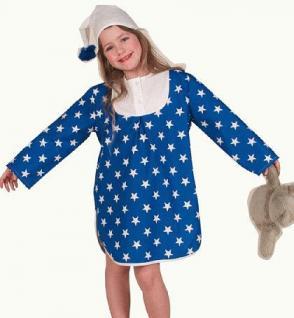 Kostüm Sandmann für Kinder Nachthemd Hemd