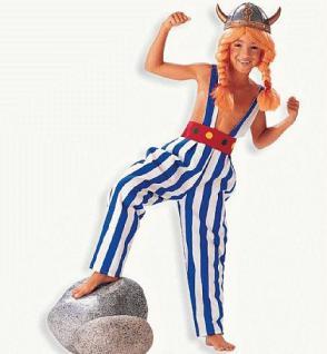 Hose Gallier Kinder Wikinger Kostüm Wikingerhose - Vorschau 1