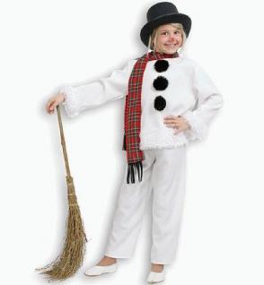 Kostüm Schneemann für Kinder Kostüm Schneemann