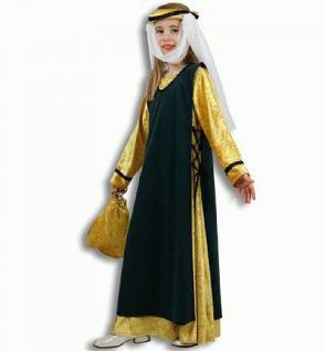 Kostüm Hilda v. Fastnacht für Kinder Kostüm Mittelalter Burgdame Hofdame Mittelalterkostüm - Vorschau 1