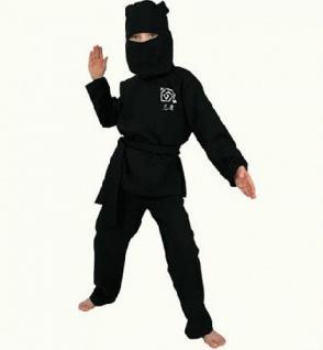 Kostüm Ninja 2-teilig Ninjakostüm