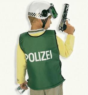 Weste Polizei für Kinder Polizist Kostüm