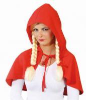 Cape Rotkäppchen Rotkäppchencape Kostüm Rotkäppchen Rotkäppchenkostüm - Vorschau