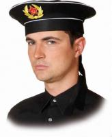 Russische Marinemütze Mütze russische Marine Mütze Matrose Matrosenmütze Mütze Seemann - Vorschau 1