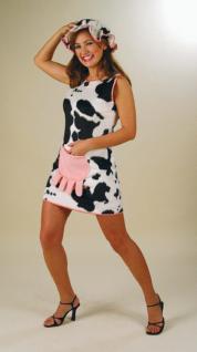 Kostüm Kleid Kuh mit Hut und Euter Kuhkostüm
