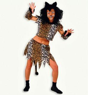 "Kostüm "" Samtpfote "" Katze Katzenkostüm Kostüm Leopard Leopardenkostüm"