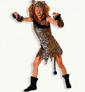 """Kostüm """" Mietzekatze """" Katze Katzenkostüm Kostüm Tiger Tigerkostüm Kostüm Leopard Leopardenkostüm - Vorschau 1"""