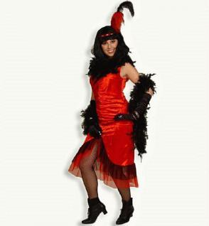 Kleid Kostüm Saloon - Girl Cowgirl Cowboy Wilder Westen Variete Can Can