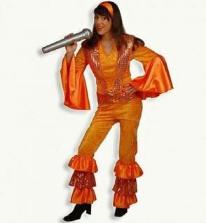 Kostüm Anita 70 er Jahre Hippie