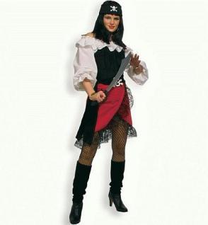 """Piratenrock Rock Piratin Kostüm Pirat Piratenkostüm Rock """"Fernanda"""" für Fasnet und Karneval - Vorschau 1"""