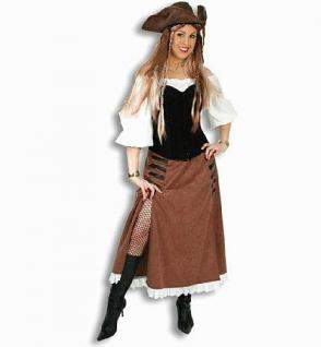 Rock Henrietta Kostüm Pirat Piratin Piratenkostüm