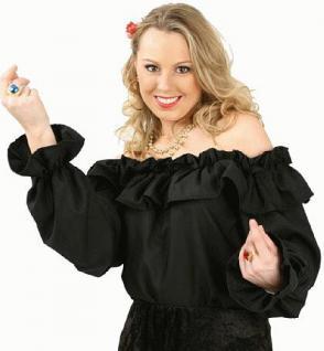 Bluse Paola schwarz