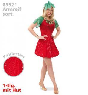 Kostüm Erdbeere Erdbeerenkostüm Kleid Erdbeere