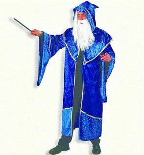 Kostüm Zauberer Zauberermantel Magier Druide Druidenumhang