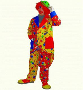 "Clown - Frack Clownmantel Clownfrack Mantel Clown Clownkostüm "" Jupp "" Clownkostüm Karneval Kostüm Clown"