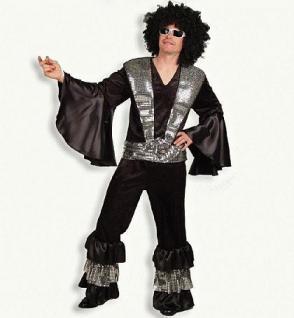Kostüm Bernie 2-teilig 70 er Jahre Hippie - Vorschau