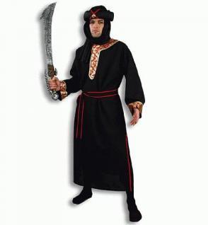 Kostüm Herr der Wüste Touareg Scheich Kostüm Beduinenkostüm Kostüm Beduine Scheichkostüm Scheichskostüm