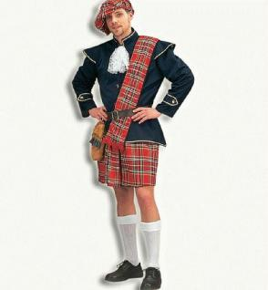 Schottenkostüm Schotte Kostüm Highlander Rock