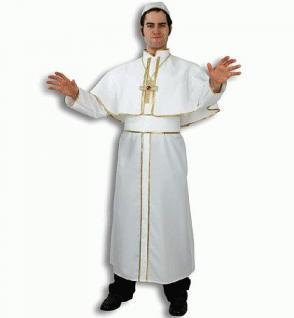 Kostüm Papst Papstkostüm Pfarrer Kostüm Priester Kardinal - Vorschau 1