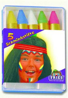 5 Schminkstifte - Vorschau