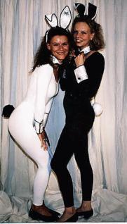Bunny Set schwarz oder weiß Hase Hase Kostüm Hasenkostüm - Vorschau