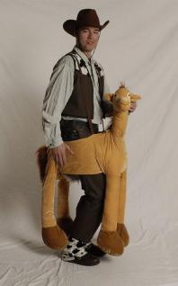 Kostüm Plüsch Pferd Reitpferd 11-99 Jahre Pferdekostüm Pferdekostüm