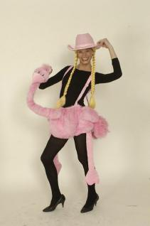 Plüsch Kostüm Strauß Flamingo pink 11-99 Jahre Kostüm Strauss Flamingokostüm Straußenkostüm