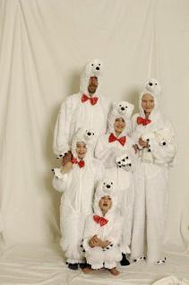 Kostüm Eisbär für Kinder und Erwachsene Bär Eisbärenkostüm Kostüm Eisbär Bärenkostüm Kostüm Bär