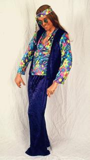 Kostüm Samt - Hippie - Mann Hippiekostüm