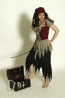 Kostüm Piratin Piratinkostüm Piratenkostüm Seeräuberin Seeräuber - Vorschau 1