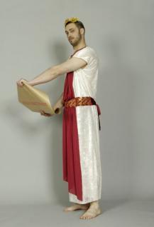 Toga Julius Caesar Senator Römer Kostüm Römerkostüm